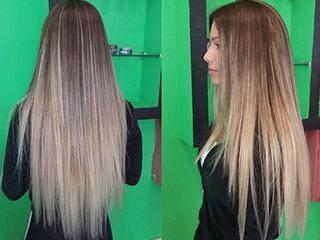 Bottox μαλλιών και χτένισμα